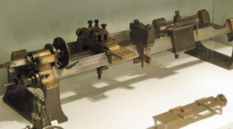 mesin bubut pertama buatan maudslay