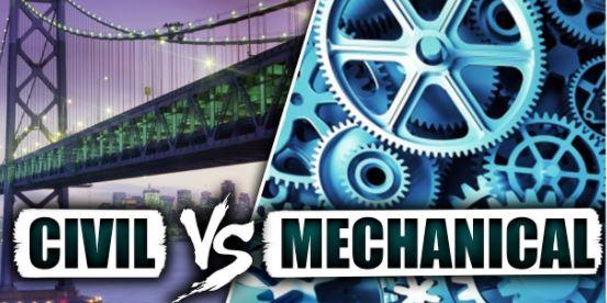 Perbandingan Teknik Mesin dan Teknik Sipil